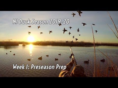 NJ Duck Hunting 2019 Week 1: Preseason Prep