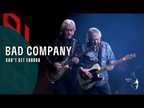 Bad Company - Can't Get Enough (Live At Wembley)