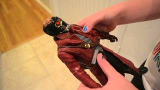 Marvel Guardians of the Galaxy Battle FX Star-Lord Figure Review Thumbnail