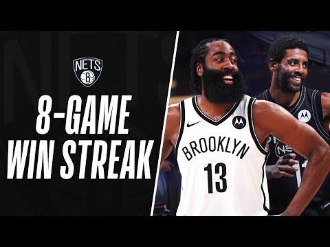 Best Of Brooklyn Nets 8-Game Win Streak!