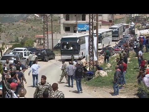 شاهد: مئات اللاجئين السوريين يغادرون لبنان ويعودون إلى وطنهم  - 19:22-2018 / 4 / 18