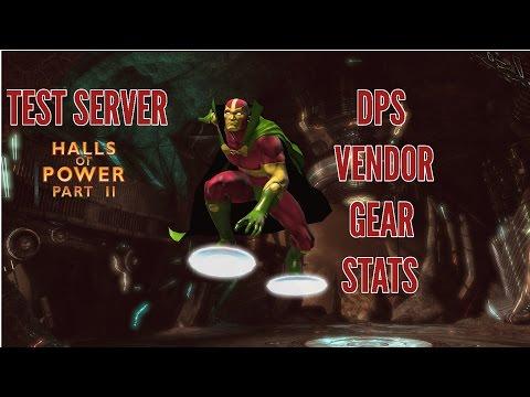 DCUO - DLC 14 Tier 7 DPS Vendor Gear Stats & Style