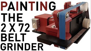 Painting The 2 X 72 Belt Grinder