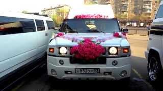 Лимузин на свадьбу с открытой площадкой