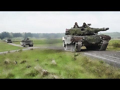 Austria Wins Strong Europe Tank Challenge 2017 • Leopard 2A4