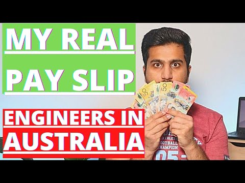 ENGINEER SALARY IN AUSTRALIA   HOW MUCH I EARN AS A GRADUATE ENGINEER IN AUSTRALIA   MY OWN PAYSLIP