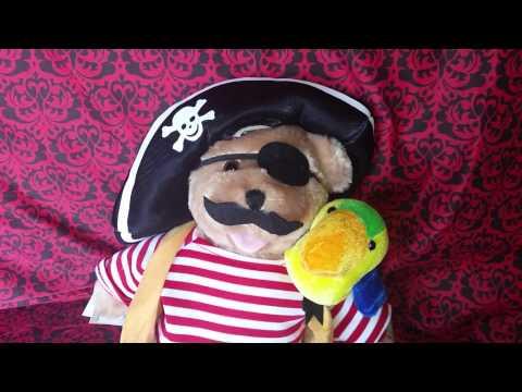 Pirate Plush Teddy Bear