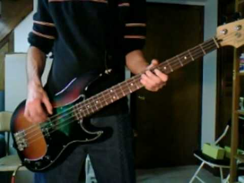 Coney Hatch - Monkey Bars - Bass Cover