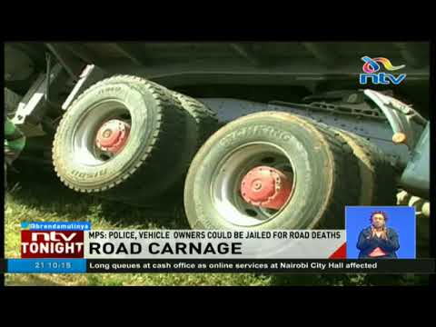 Traffic commandants and PSV sacco CEOs could be jailed for road accidents