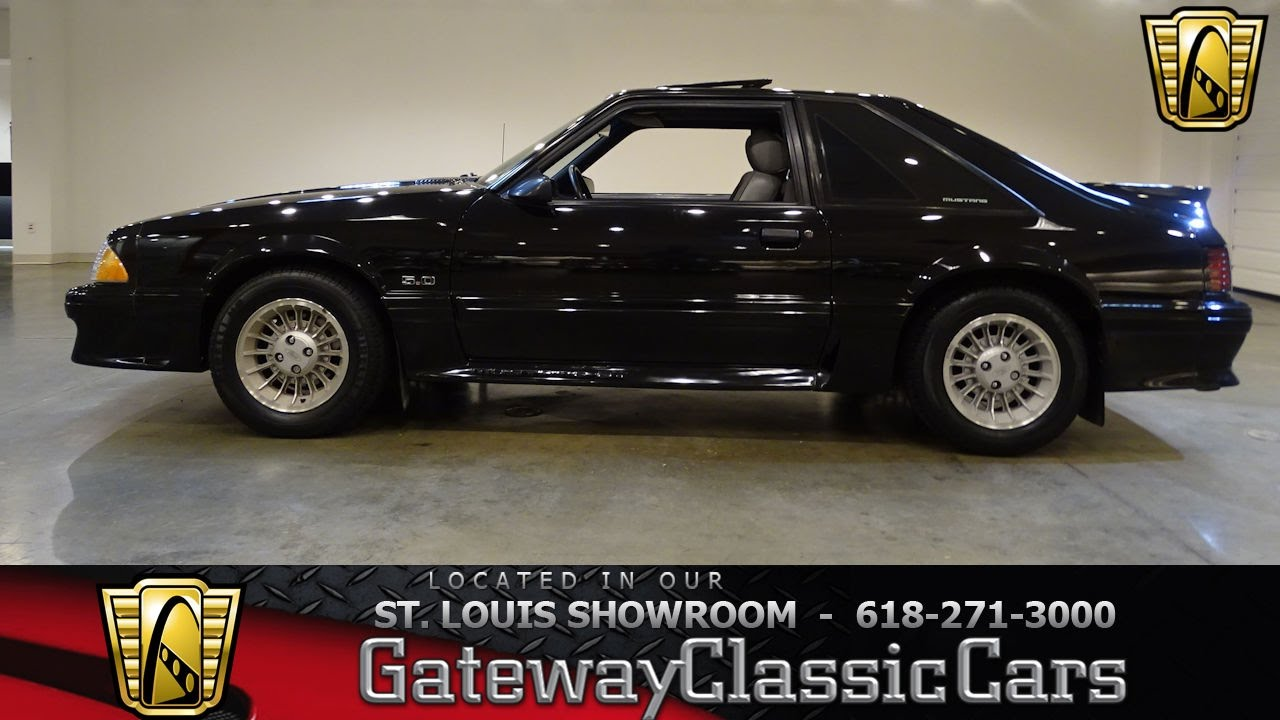 1989 Ford Mustang GT Stock #7148 Gateway Classic Cars St. Louis Showroom & 1989 Ford Mustang GT Stock #7148 Gateway Classic Cars St. Louis ... markmcfarlin.com
