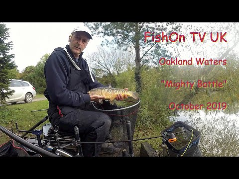 FishOn TV UK, Oakland Waters Live Match Fishing Oct 2019