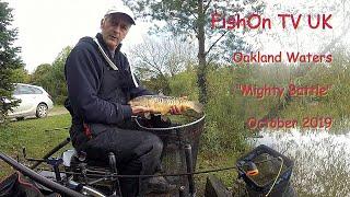 FishOn TV UK, Oakland Waters Live Match Fishing Oct 2019