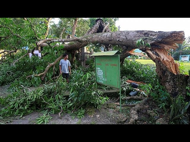 Phillipines battered over Christmas by Typhoon Nock-ten