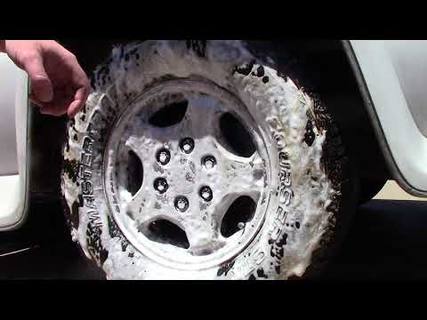 Best Way To Clean Car Wheel & Tire - Save The Planet!