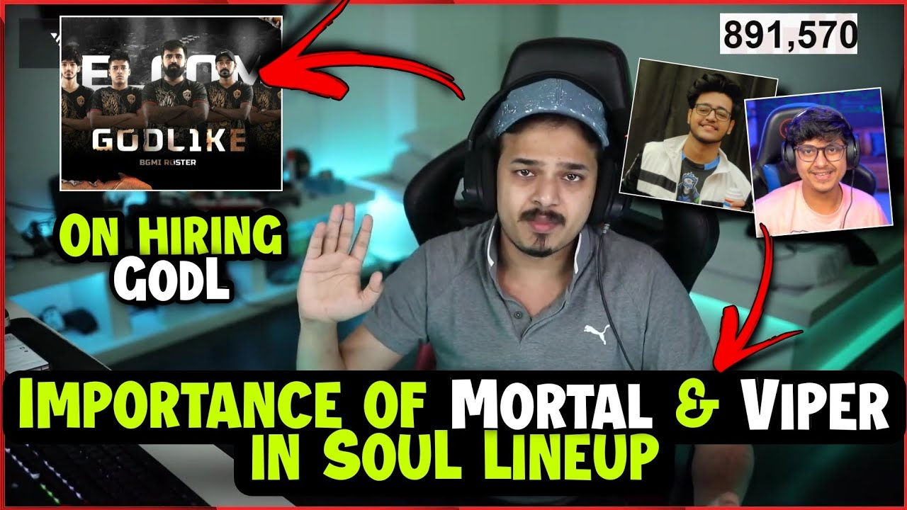 Download Thug on Hiring GodL Lineup🔥 | Why  Mortal & Viper not leave Competitive