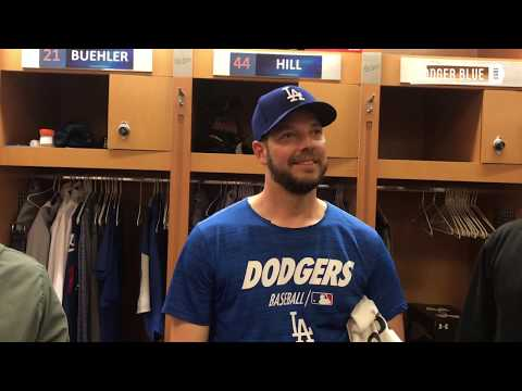 Dodgers Spring Training: Rich Hill argues against MLB implementing pitch clock