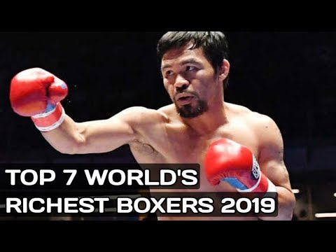 Top 7 Richest Boxers In The World 2019