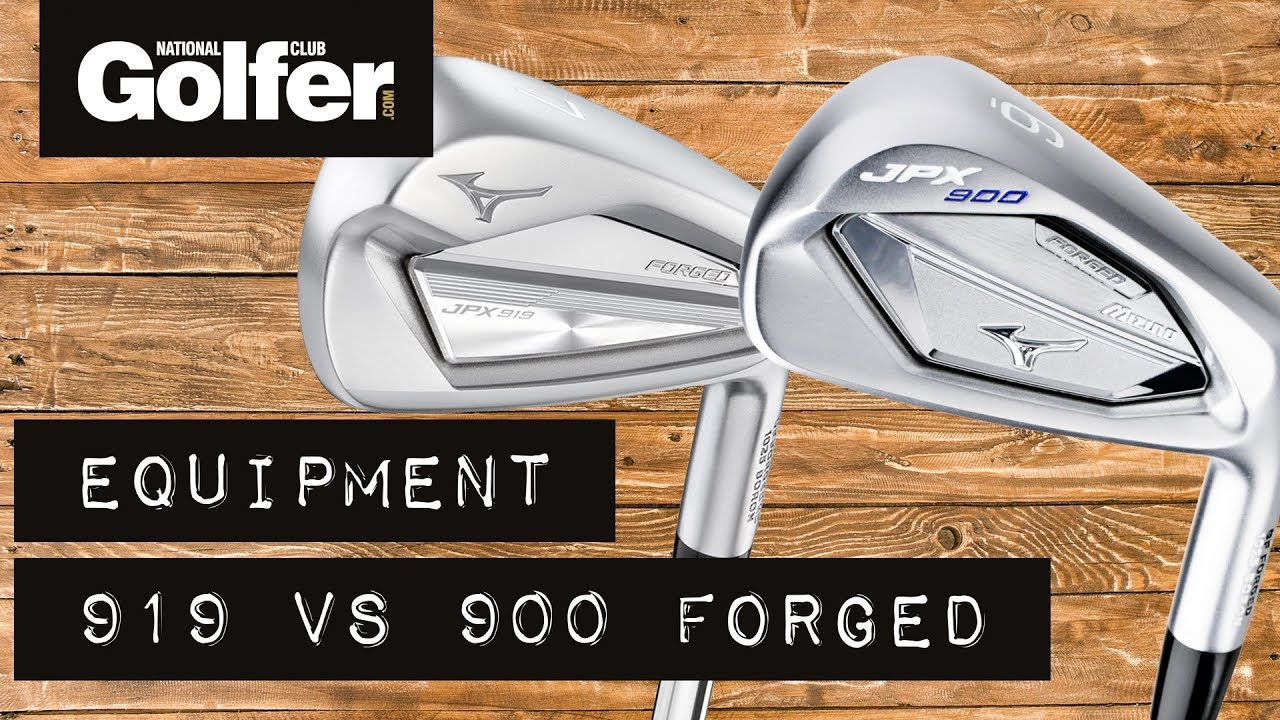 94a14acc5029 Review: Mizuno JPX919 Forged Irons vs. JPX900 Forged Irons - YouTube