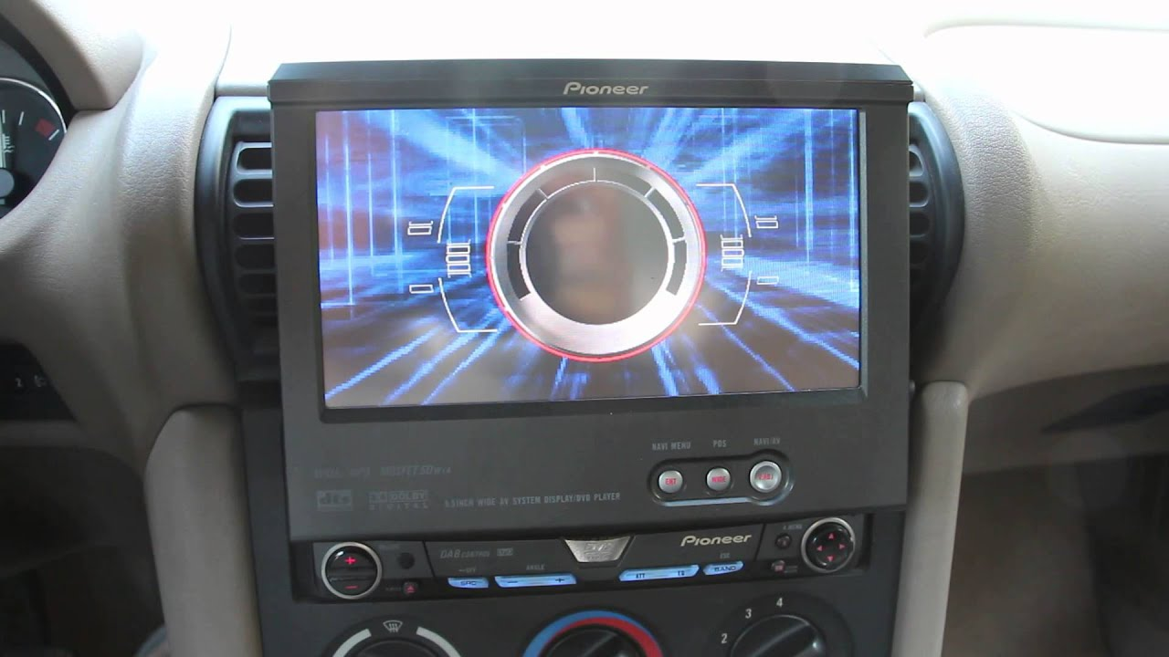 Pioneer Avg Vdp1 On A Bmw Z3 Youtube