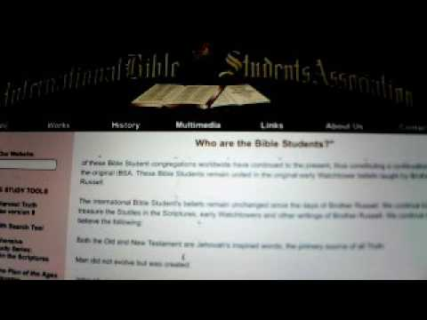 BIBLE STUDENTS EXPOSED ONE BIG LIE IN Jehovah's witnesses