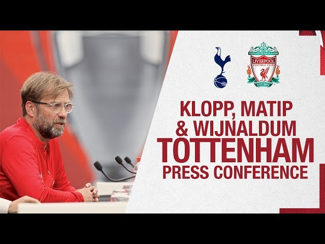 Klopp, Matip and Wijnaldum | Champions League media day press conference