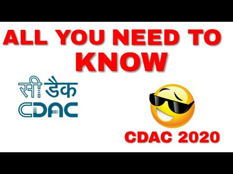 What is CDAC?? || Explained in हिंदी ||