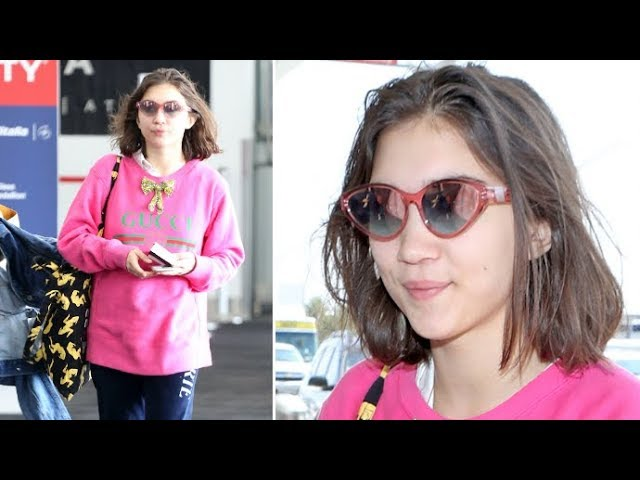 Disney Star Rowan Blanchard Is Adorable Sans Makeup At LAX!!