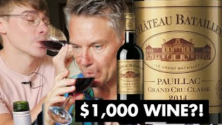 Does More Expensive Wine Taste Better? ($1000 vs $40 vs $5) // with British Gentleman: Ollie