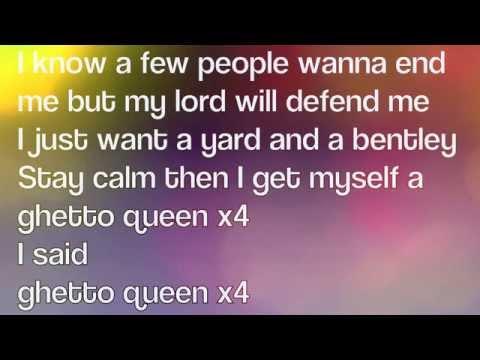 Geko - Ghetto Queen LYRICS ON SCREEN