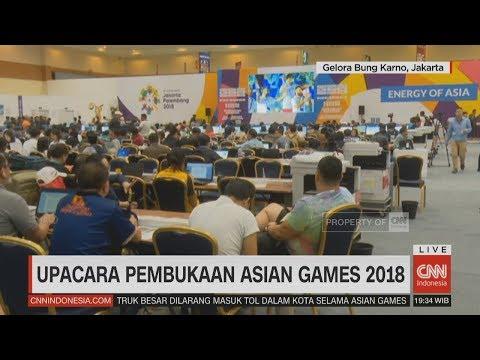 Kemeriahan Upacara Pembukaan & Pengamanan Asian Games 2018