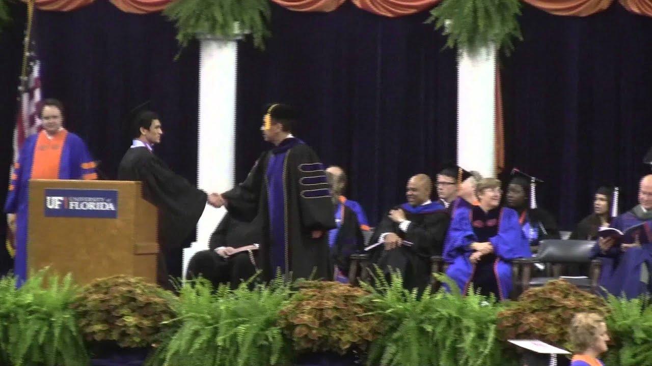 University of Florida Graduation Flip 2013 - YouTube
