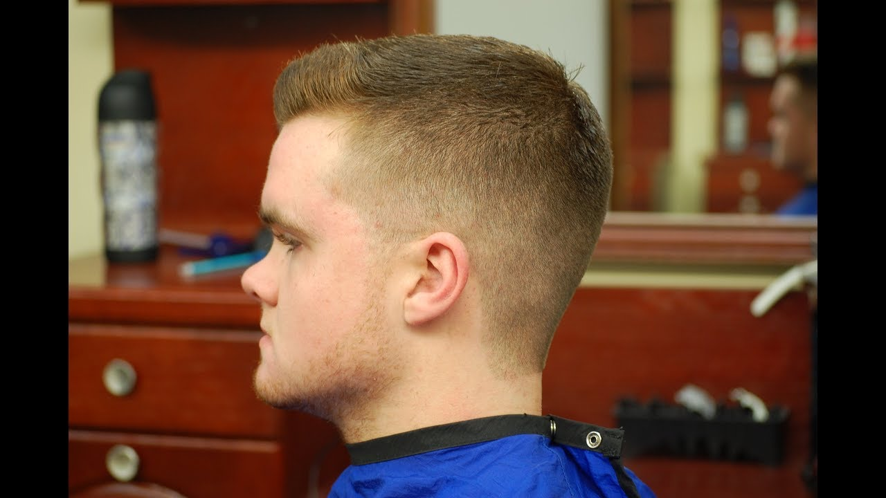 How To Do A Fade With A Spiky Hairstyle Youtube