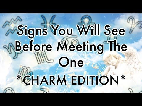 """Signs You Will See Before Meeting """"THE ONE""""💍🔮  {Pick A Card Reading}"""