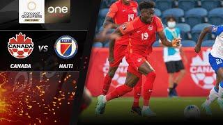 HIGHLIGHTS | Canada v Haiti - CONCACAF Men's World Cup Qualifiers (Qatar 2022)