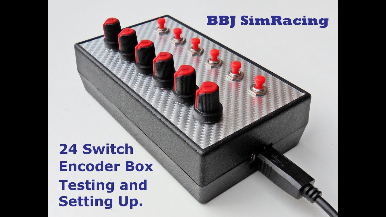 how to make a button box for pc