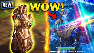 *NEW* THANOS EPIC PLAYS & FUNNY MOMENTS HIGHLIGHTS!   Fortnite Highlights #33