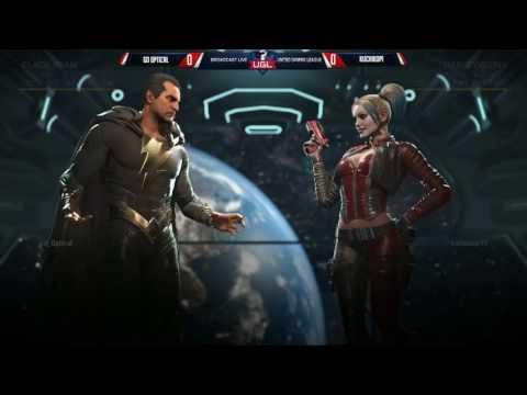 UGL Alpha 3 INJUSTICE 2: GO Optical (Black Adam) Vs KuchiKopi (Harley)