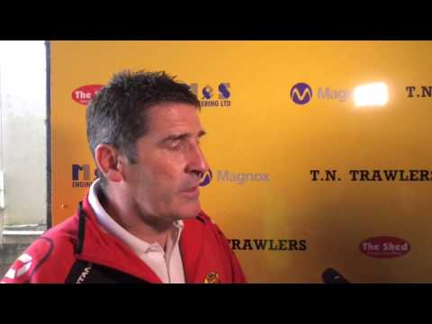Annan Athletic 1-1 Stirling Albion post match reaction. 15/08/2015