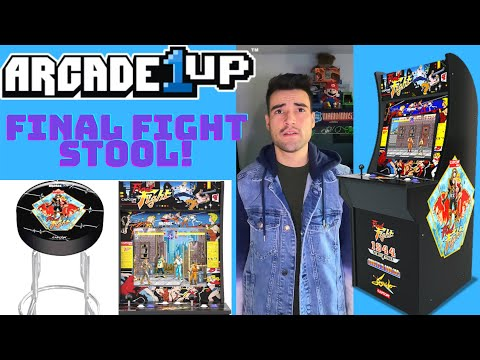 ARCADE1UP FINAL FIGHT STOOL from Brick Rod