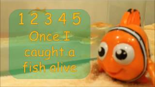 Download 12345 Once I Caught a Fish Alive | Nursery Rhymes | Number Song | Kidzstation MP3 song and Music Video