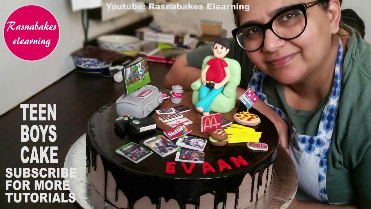 Teen Boys Birthday Cake Designgifts For Boysgifts 16 Year Old Boy