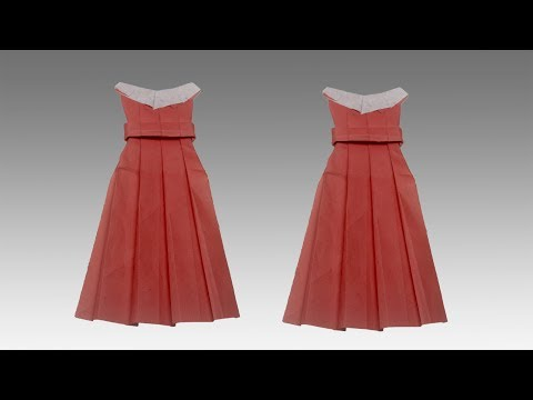 Paper Dress | Diy Craft Ideas | How To Make Paper Dress | Popular Craft