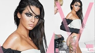 Kendall Jenner Flaunts GIANT Butt Tattoo For V Magazine