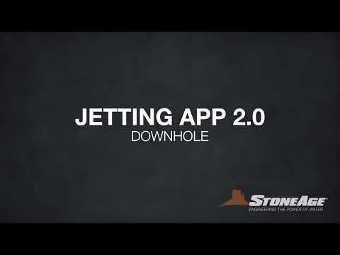 Jetting App 2.0: Downhole