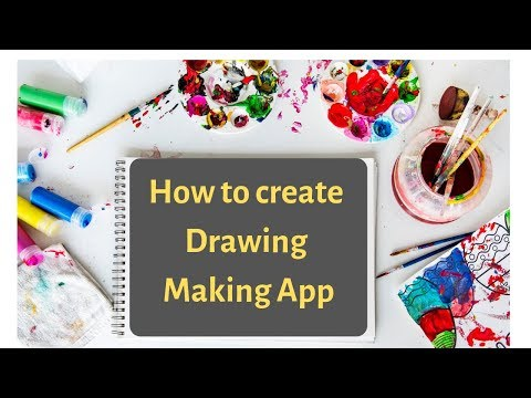 How To Create Drawing Android App In Mit App Inventor 2