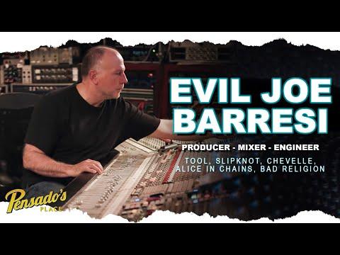 Producer / Mixer / Engineer, Joe Barresi (Tool, Slipknot) PART 1 – Pensado's Place #435