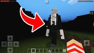 lanou slenderman para o minecraft pocket edition 1 0 oficial