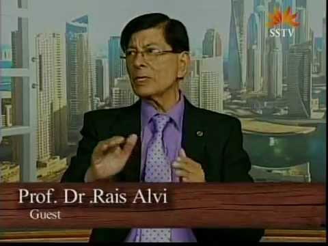 Prof. Dr. Rais Alvi, VC Newports Institute of Communication & Economics on Urdu TV Canada