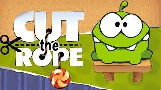 Cut the Rope - ZeptoLab UK Limited Season 1 Cardboard Box Level 1-15 Walkthrough