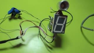 Индикатор, указатель передачи, схема без микроконтроллера!